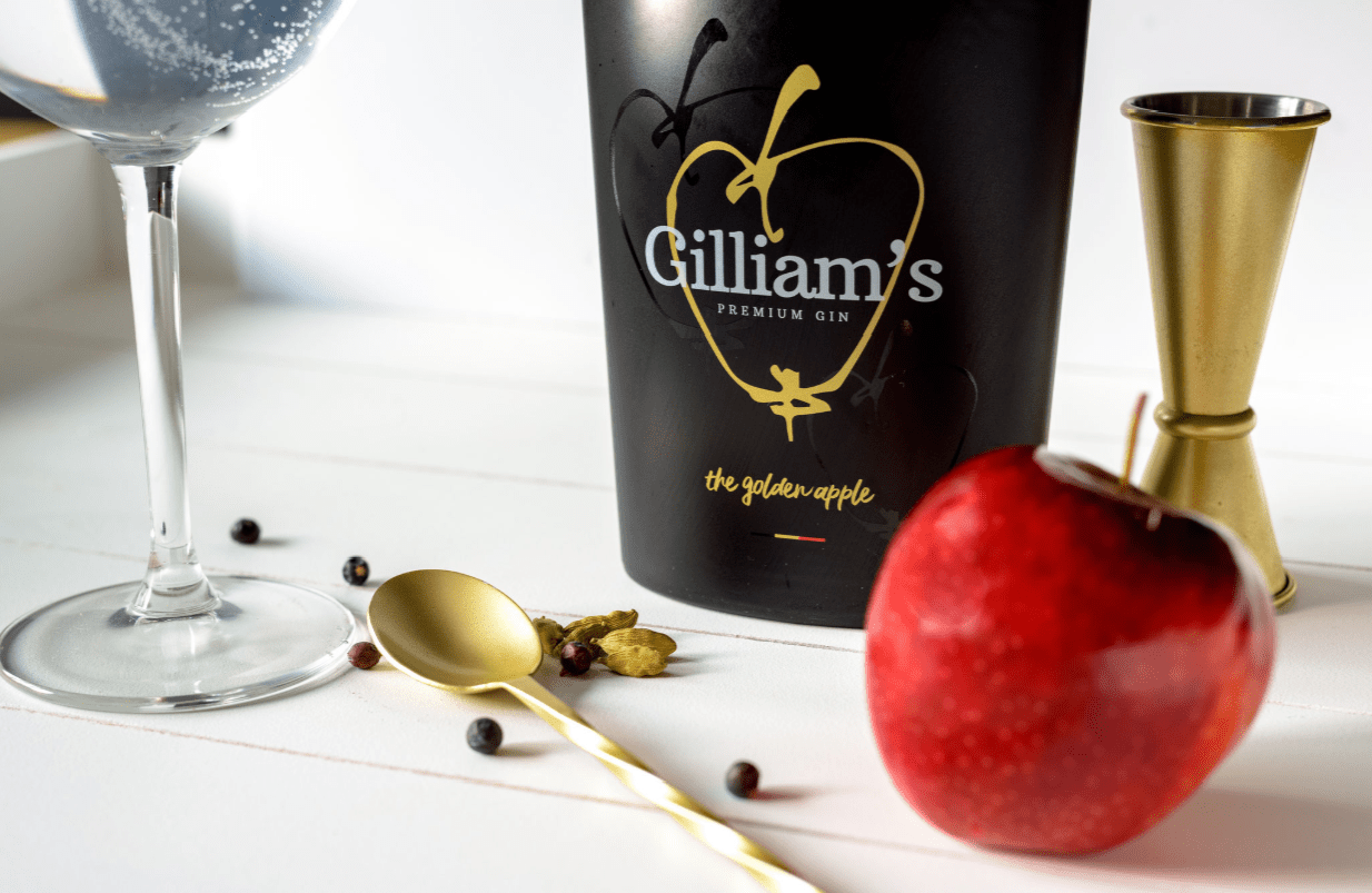 Gilliam's Gin - The Golden Apple