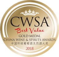 China Wine and Spirits Awards - Gold Medal