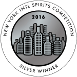New York International Spirits Competition 2016: Silver Medal