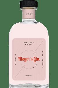Meyer's Gin Ruby - bottleshot